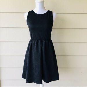 Black Floral Printed Dress